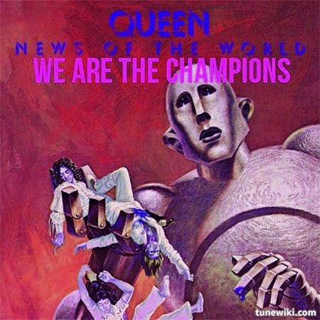 دانلود آهنگ We Are The Champions از Queen