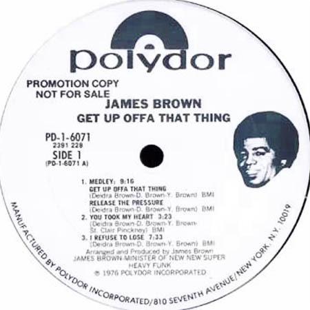 دانلود آهنگ Get Up Offa That Thing از James Brown
