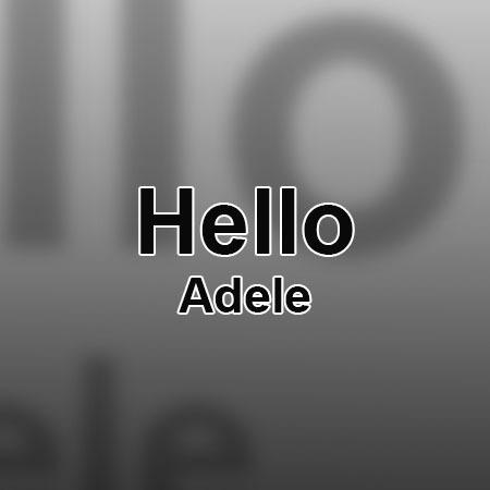 دانلود آهنگ Hello از Adele