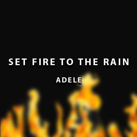 دانلود آهنگ Set Fire To The Rain از Adele ادل