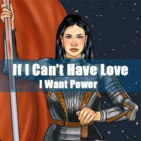 دانلود آلبوم هالزی If I Can't Have Love, I Want Power