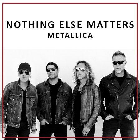 دانلود آهنگ Nothing Else Matters از متالیکا